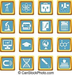 Education icons azure
