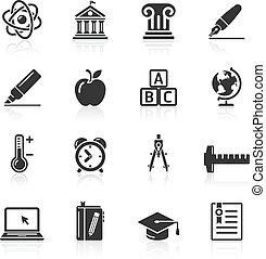 Education Icons set 2.