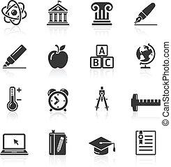 Education Icons set 2.