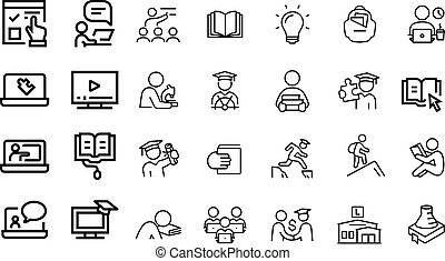 Education Icons vector design