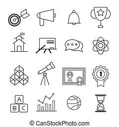education illustration for design