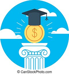 education, instruction, finance, argent, bourse