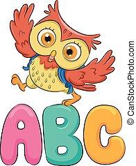 Education Owl Walk ABC