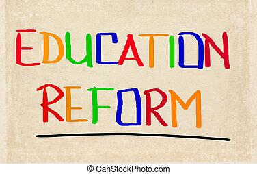 Education Reform Concept