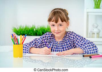 education school girl