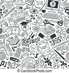 Education - seamless background