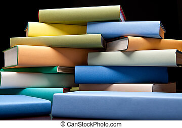 education study books with text learning building knowledge...