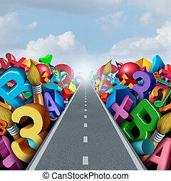 Education Success Road