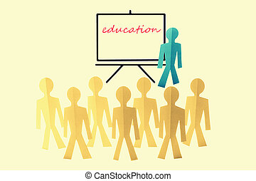Education, Team Training, Concept