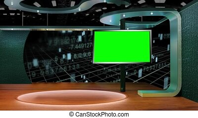 Hud Numbers Interface in background  for Education base TV Program seamless loopable HD Video