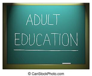 education., volwassene