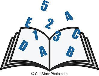 Educational Book Vector