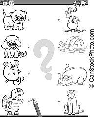 educational coloring book