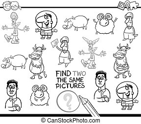 educational game coloring page