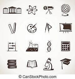 educational icon stock vector