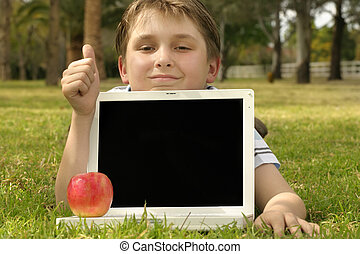 Educational Software, games, entertainment etc. He is giving...