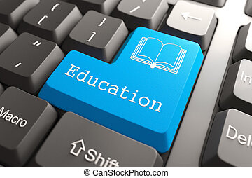 educazione, button., tastiera