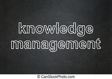 educazione, concept:, conoscenza, amministrazione, su, lavagna, fondo