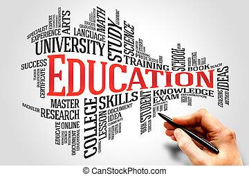educazione, e, cultura
