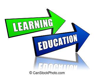educazione, frecce, cultura