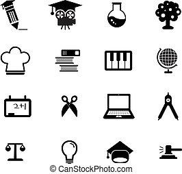 educazione, icona