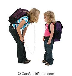 eduque chicas, wth, ruta de recorte