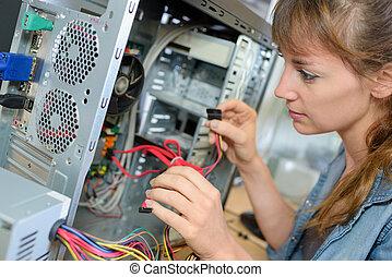edv, repairwoman