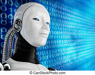 edv, roboter, hintergrund
