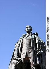 Edward Cornwallis Bust - A statue Edward Cornwallis, the...