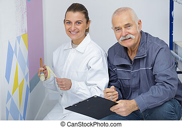 edző, feltevő, szobafestő, kereskedelmi, női