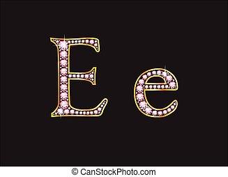 Ee Rose Quartz Jeweled Font
