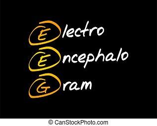 eeg, electroencephalogram, acronyme, -