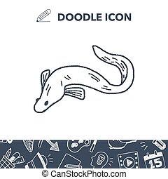 Eel doodle