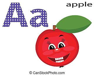 een, alfabet, kinderen