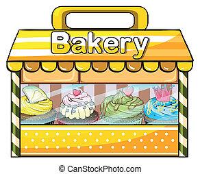 een, bakkerij, stalletje