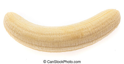 een, banaan