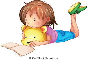 een, het bestuderen van het kind