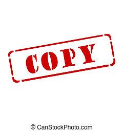 """een, rood, postzegel, """", kopie, """""""