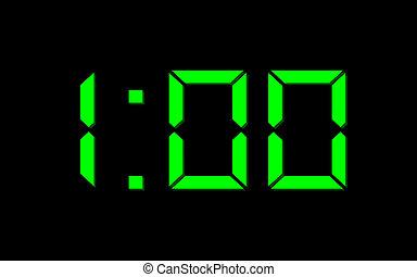 een, uur