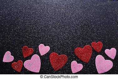 een, valentine's dag, achtergrond