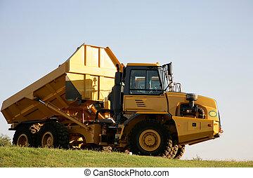 een, vrachtwagen