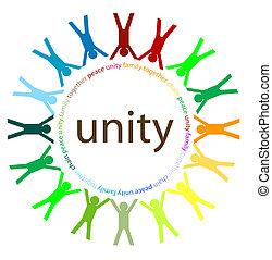 eenheid, en, vrede