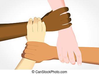 eenheid, in, verscheidenheid