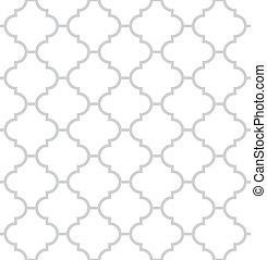 eenvoudig, geometrisch, vector, seamless, textuur