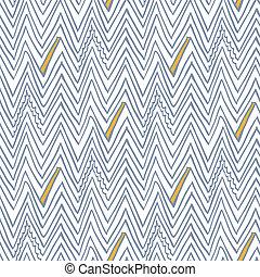 eenvoudig, model, lijnen, seamless, zigzag, vector