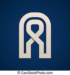eenvoudig, symbool, vector, papier, brief