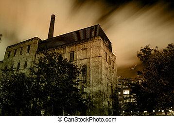 Eerie Urban Night