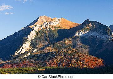 eeriness, montanha, tatry, paisagem, polônia
