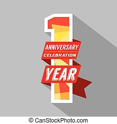 eerst, jaar, jubileum, celebration.