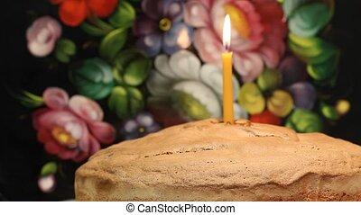 eerst verjaardag cake
